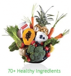 Shakeology has 70+ Superfoods from around the World.