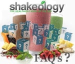 Shakeology shake frequently asked questions