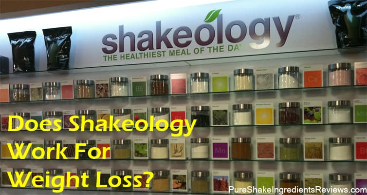 Can you lose weight with Shakeology?