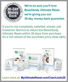 Beachbody Ultimate Reset Cleanse Guarantee