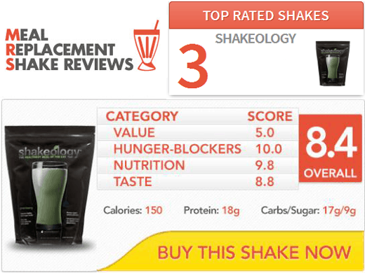 Meal Replacement Shake Reviews: Shakeology Review