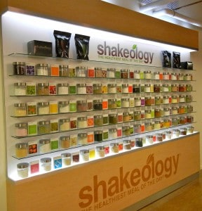 Shakeology: Wall of Ingredients