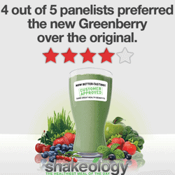 New Customer Approved Greenberry Shakeology Formula