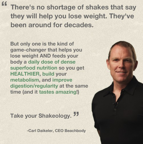Carl Daikeler on what is Shakeology.