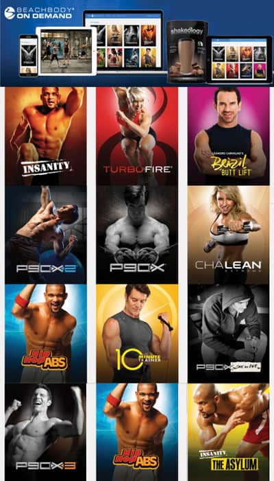 Beachbody on Demand has an ever growing library of workouts!