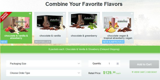 Combine Your Favorite Shakeology Flavors!