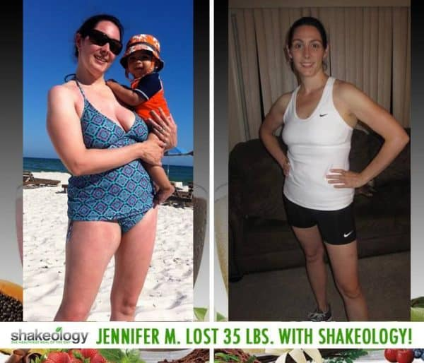 Jennifer Improved Her Nail Psoriasis & Lost 35 LBS with Shakeology