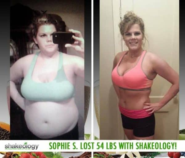 Sophie Says Shakeology Delivered on All It's Promises & Lost 54 LBS