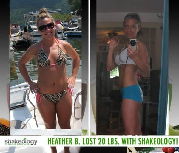 Heather Enjoys a Healthy Breakfast Now & She Lost 20 LBS with Shakeology