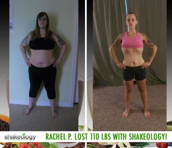 Rachel Now Has Energy to Keep Up With Her Kids & Lost 110 LBS with Shakeology