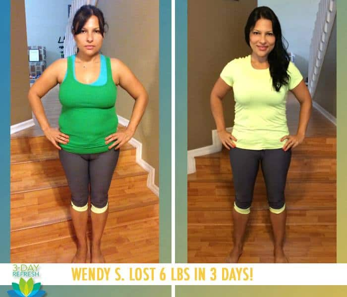 "Beachbody 3 Day Refresh reviews: ""I loved every single moment of the Refresh. I was never hungry, I was full of energy, I felt lean and I just felt alive again and on the right track."" - Wendy S. lost 6 lbs"