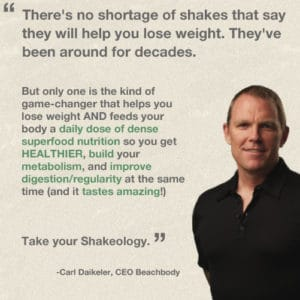 Carl Daikeler talks about Shakeology