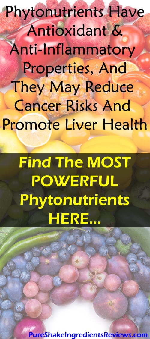 Best Phytonutrient Foods