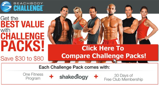 Compare Beachbody Challenge Packs!