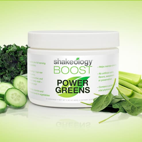 Shakeology Boost: Power Greens