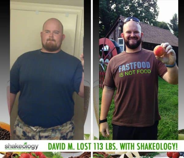 David Said Shakeology Delivers on it's Claims. He Lost 113 LBS.