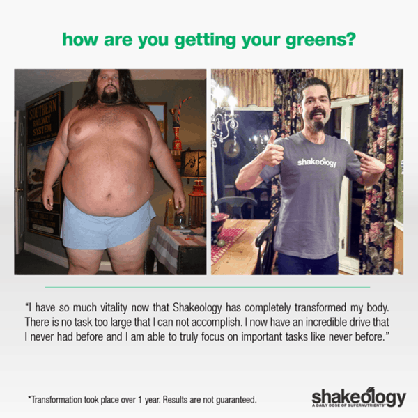 Joel went from Hopeless & Super Morbidly to Losing Over 200 LBS with Shakeology