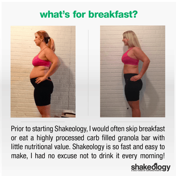 Kami No Longer Eats Junk in the Morning & Lost 40 LBS with Shakeology