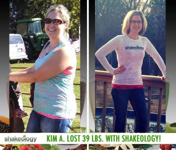 Kim Has a Crazy Amount of Energy & Lost 39 LBS with Shakeology