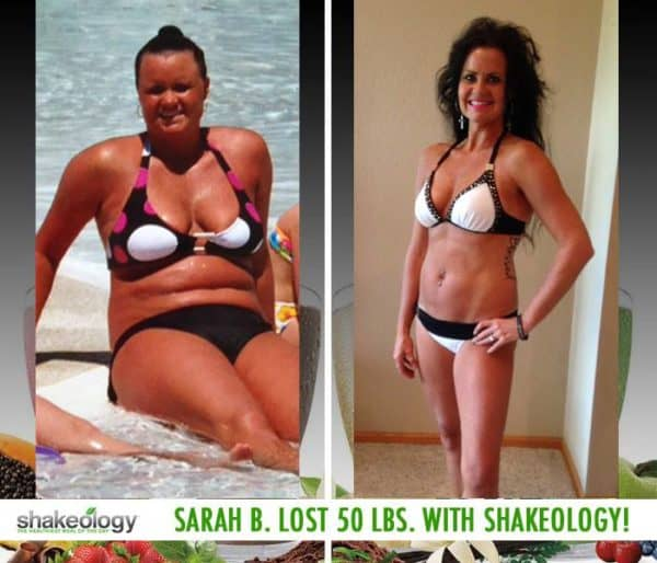 Sarah Says There's No Other Product Like Shakeology & Lost 50 LBS