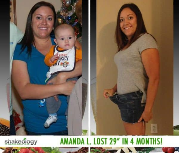 Amanda Gained More Energy & Lost 36.3 LBS with Shakeology