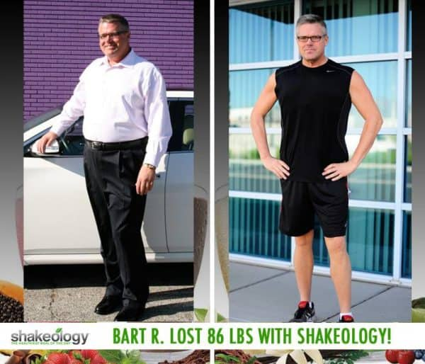 Bart Can't Imagine Going a Day Without Shakeology! He Lost 86 LBS with Shakeology!