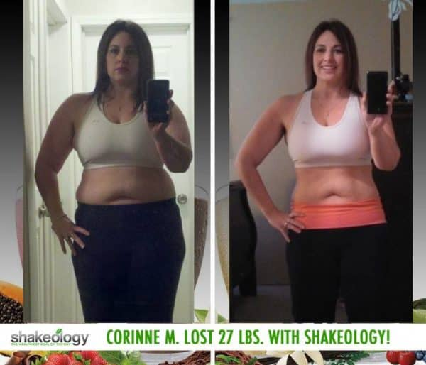 Corinne Loves the Nutrition in Shakeology & She Lost 27 LBS.