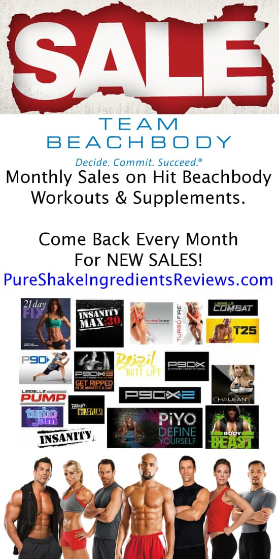 Forget the fake Team Beachbody coupon codes online. Here are the real Beachbody monthly sales with exclusive Free workouts. Updated Monthly: http://www.pureshakeingredientsreviews.com/team-beachbody-coupon-codes