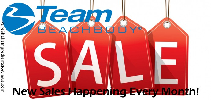 Team Beachbody Monthly Sale!