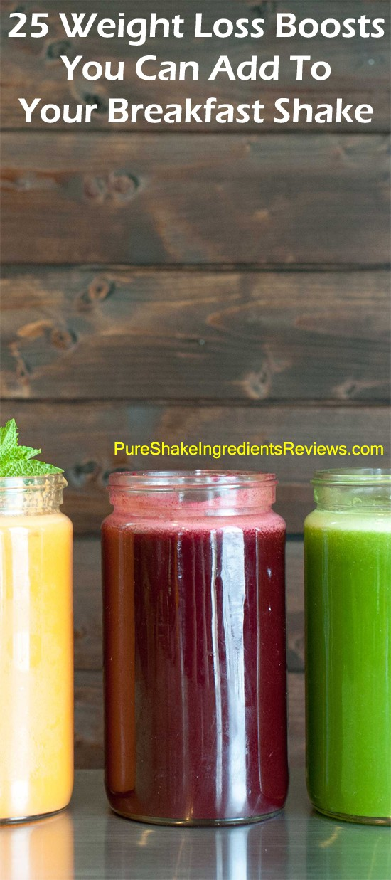 25 Boosts For Healthy Breakfast Smoothies (WEIGHT LOSS)