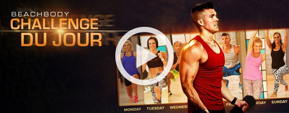 Not just the same old workout routines! Mix up your routine with Challenge Du Jour!