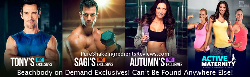 Beachbody on Demand Exclusives: Workouts you can't buy nor find anywhere else!