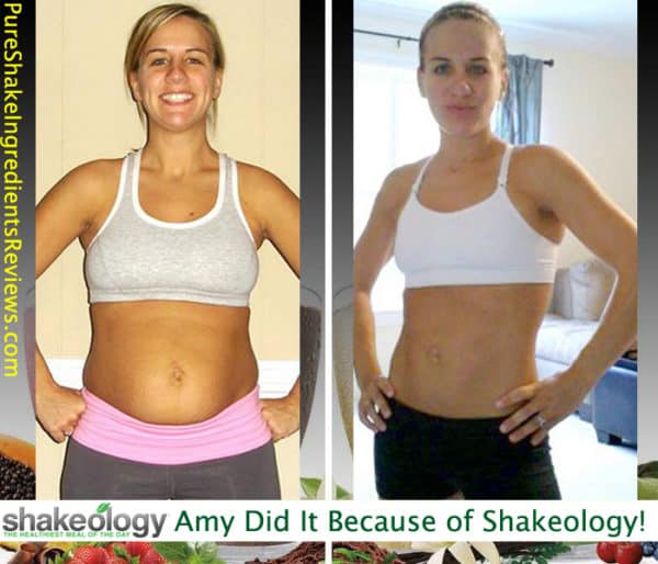 Amy Got The Energy From Shakeology To Finally Lose Weight!