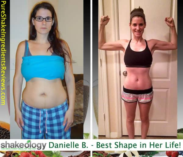 Danielle Got Into the Best Shape of Her Life!
