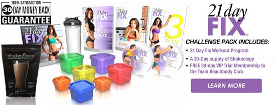 Order the 21 Day Fix Challenge Pack!