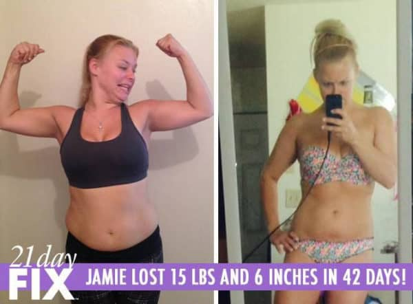Jamie Found It Easier Than She Thought to Lose 15 LBS