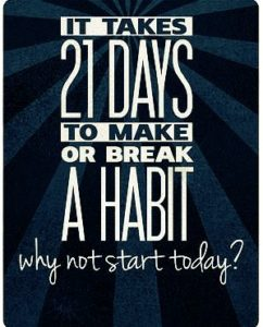 It's only 21 days to a new, healthier, and fitter you!