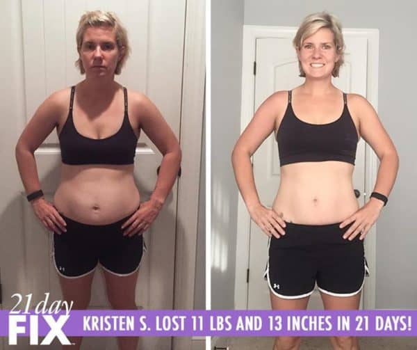Kristen Calls the 21 Day Fix A Way of Life! She Lost 11 LBS!