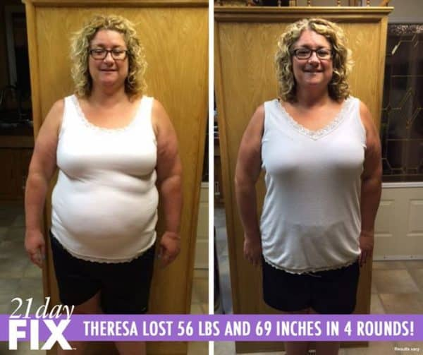 Theresa Gained Back Her Confidence and lost 56 LBS!
