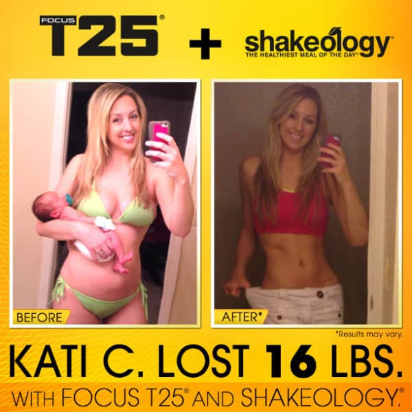 Kati Got A Natural High From T25, Shakeology, & Eating Healthy!