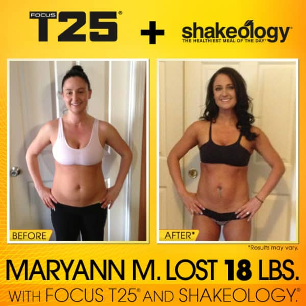 Maryann Reached Her Fitness Goals With Shakeology!