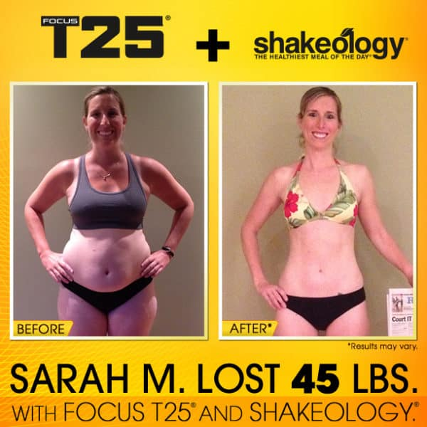 Sarah Used to Love Junk Food. She Gave Junk Food the Boot & Lost 45 Pounds!