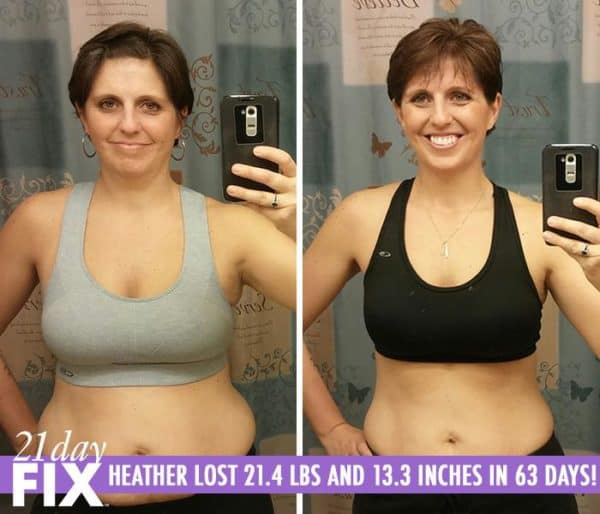 Heather is a Happier Mom & Wife. She Lost 21.4 LBS