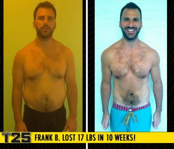 Frank B. Lost 17 lbs in 10 weeks of Focus T25!