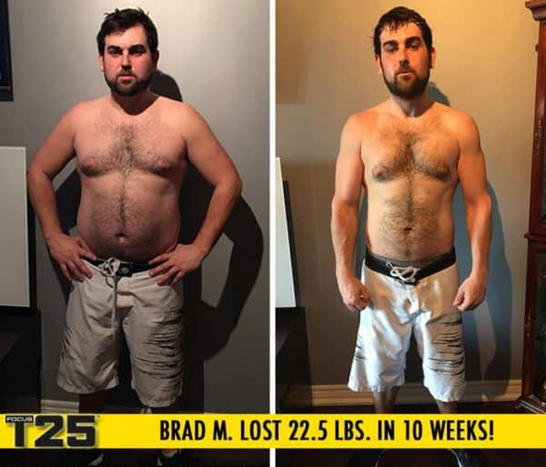 Brad Lost 22.5lbs in just 10 weeks!