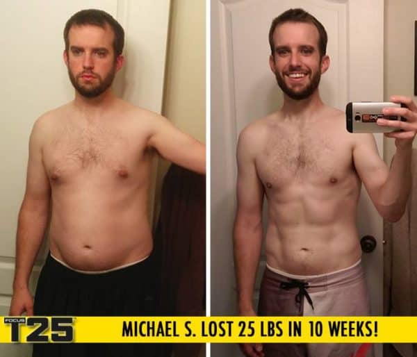 Mike S. Lost 25 lbs in 10 weeks with Focus T25!