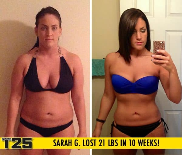 Sarah G. Lost 21 lbs in 10 weeks with Focus T25!