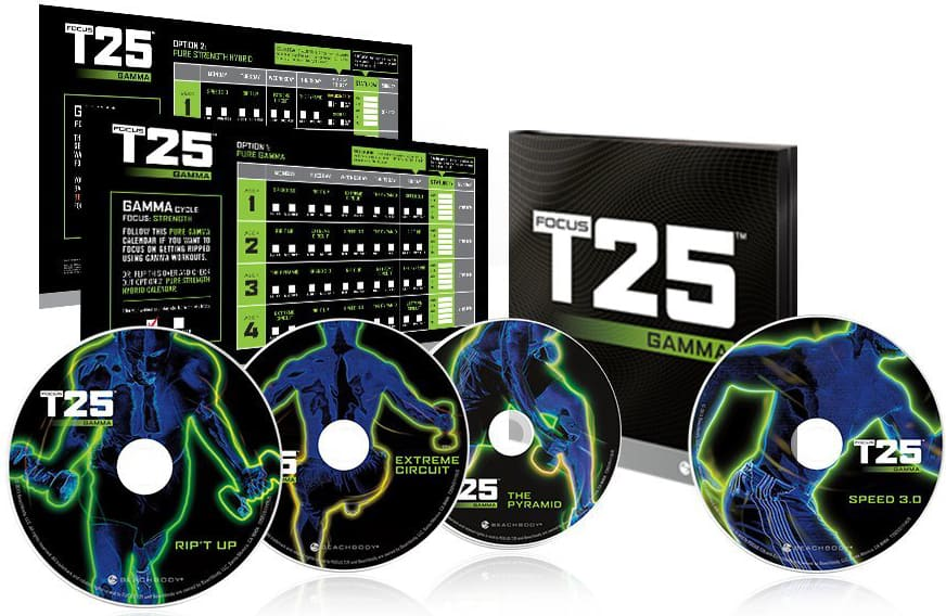 Focus T25 Gamma Workouts