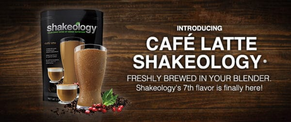 Cafe Latte Shakeology is a new Coffee Shakeology flavor that's actually healthy!