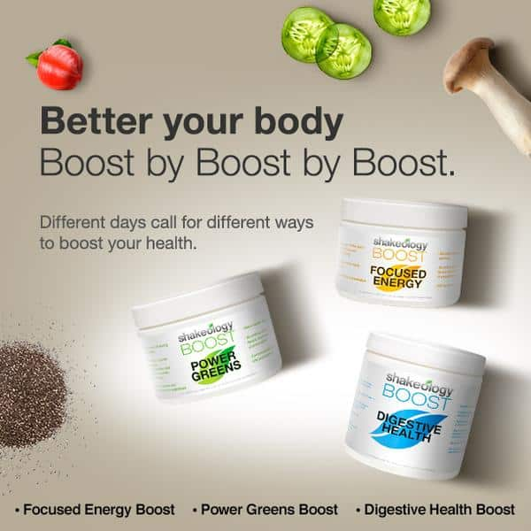 Shakeology Boosts: Boost Your Health Today!